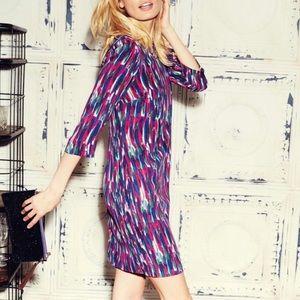 Boden Beaufort watercolor shift dress